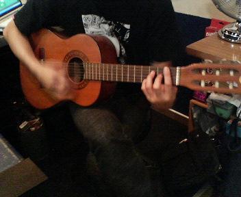 ガットギター連発・