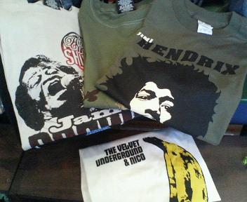 ロックTシャツ!