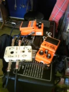 ギターの修理、改造